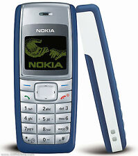 New High Quality Nokia 1110 (Blue/White/Black) Full Housing Body Panel Faceplate