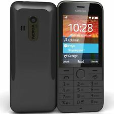 New High Quality Nokia 220 (Black/White) Full Housing Body Panel Faceplate