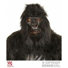 GORILLA MASK Accessory for Ape Monkey Jungle Animal Fancy Dress