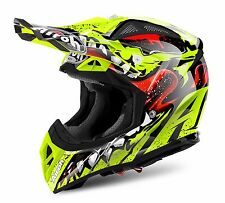 AIROH AVIATOR 2.2 Grim GIALLO MOTOCROSS MX ENDURO OFF-ROAD MOTO CASCO