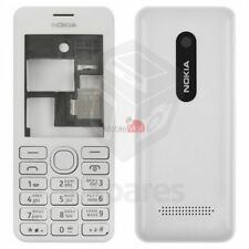 New High Quality Nokia Asha 206 (White/Black) Full Housing Body Panel Faceplate