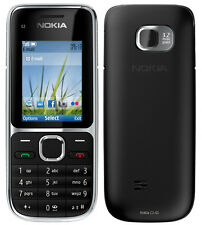 New High Quality Nokia C2-01 (Black) Full Housing Body Panel Faceplate