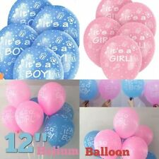 Its a Boy & ITS A GIRL BIRTHDAY, Baby Shower Party Decorations Latex BALOONS