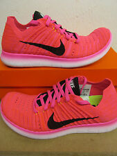 nike womens free RN flyknit running trainers 831070 600 sneakers shoes