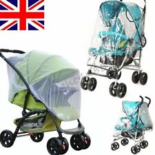Quality Baby Buggy Pushchair Stroller Pram Rain Mosquito Fly Insect Net Cover-UK
