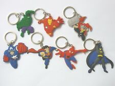 AVENGERS Super Hero keyring keychain gift Batman Superman Spiderman Capt America