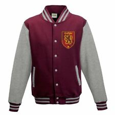 LICENZA UFFICIALE Harry Potter Grifondoro stemma Burgundy giacca stile varsity