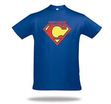 CHIPLEADER Shirt Superman Poker T-Shirt Superman Texas Holdem Pokerplayer