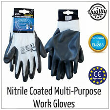 New Nitrile Palm Coated Precision Protective Safety Work Gloves - Multi Purpose