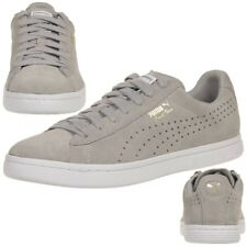 PUMA Escarpins Star SD Chaussures baskets daim cuir sauvage 364581 02 Gris