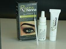 Ryana Henna Natural Eyebrow Eyelash Professional Color Tint Cream Kit, 15-minute