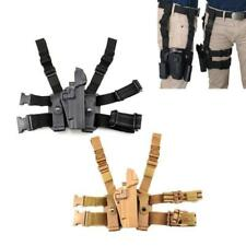 Airsoft Tactical Pistol Drop Leg Holster Right Hand Thigh Gun Holsters For 1911