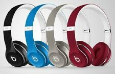 Beats by Dr. Dre ML9G2ZM/A Solo 2 (Luxe Edition) On-Ear Headphones Red New from