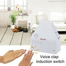 110V/220V Electronic Gadget Hand Light Switches Sound Activate Switch QQ