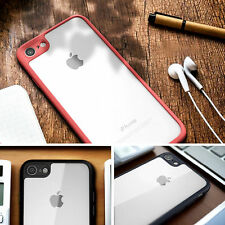 SlimThin Clear Soft TPU Shockproof Bumper Back Case Cover For Apple iPhone 7
