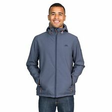 Trespass Taye Mens Softshell Waterproof Jacket Windproof Hooded Raincoat