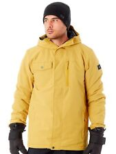 Quiksilver Mustard Gold Mission Solid Snowboarding Jacket