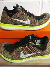 Nike Free RN Flyknit OC Mens Running Trainers 843430 999 Sneakers Shoes