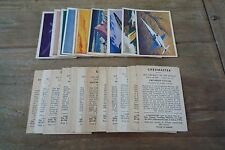 Master Vending Co - Jet Aircraft Of The World 1958 - VGC Pick The Cards You Need