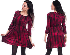 INNOCENT LIFESTYLE BLACK RED CORRIE DRESS