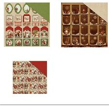 """Fabscraps Christmas Memories Double-Sided Cardstock 12""""X12"""" 30,5x30,5 cm"""