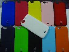 MICROMAX CANVAS TURBO A250 RUBBERISED MULTI COLOR CAPDASE CASE HARD BACK CASE