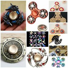 Captain America Rainbow Wheel Sword Dragon LED Metal Fidget Spinner Toy for Kid