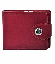 Modish High Quality PU Leather Textured Wallet For Men's With Button Press