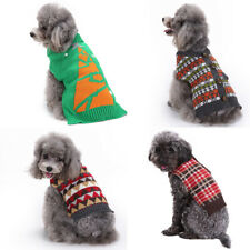 Adorable Christmas Pet Clothes Dog Cat Sweater Puppy Warm Jumper Coat Clothing