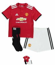 SALDI adidas Manchester United Home Mini Kit 2017 2018 Neonato Red