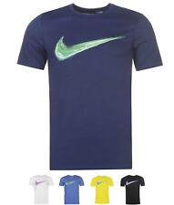 FASHION Nike Streak Swoosh QTT T Shirt Mens Grey