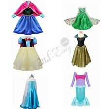 Girls Pirate Queen Princess Halloween Costume Outfits Party Fancy Dress Up Kids