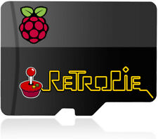 Linux OS RetroPie 4.4 microSD SDHC Card for Raspberry Pi 2 & 3 Gaming Console