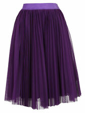 Pinko Gonna in tulle viola Donna