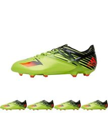FASHION adidas Mens MESSI 15.1 FG Football Boots Semi Solar Slime/Solar Red/Cor
