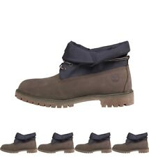 OCCASIONE Timberland Mens Roll Top Cordura Boots Light Grey UK 6.5 Euro 40