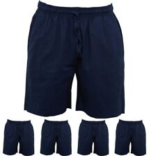 """BRAND French Connection Mens Draw Linen Shorts Marine X-Small Waist 28"""""""