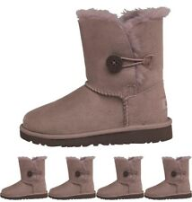 DI MODA UGG Toddler Bailey Button Boots Stormy Grey UK 5 Euro 22.5 Infant
