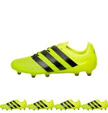 FASHION adidas Mens ACE 16.1 FG Football Boots Solar Yellow/Core Black/Silver M