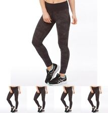 BRAND Asics Womens Fuzex Deep Waisted Performance Running Tight Leggings Brush