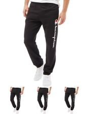 MODA Champion Mens Logo Sweat Pants Black Small Waist 30""