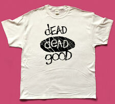 DEAD DEAD GOOD indie record label screen printed tribute T SHIRT