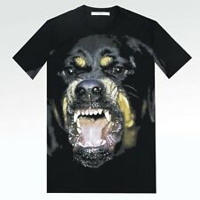 100% Auth Mens NEW Givenchy Rottweiler Cuban Columbian Slim or Oversized T Shirt