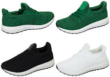 Womens Ladies Yeesy Mesh Shoe Trainers Lace Up Sneakers Casual Pumps Sports Gym