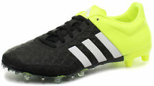 ADIDAS ACE 15.2 FG/AG BLK / jaune chaussures foot HOMMES / Crampons de football