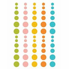 Simple Stories You Are Here Enamel Dots Embellishments,
