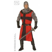 Mens DARK AGE KNIGHT Costume Medieval Times Middle ages Jousting Fancy Dress