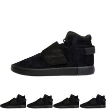 DI MODA adidas Originals Mens Tubular Invader Strap Trainers Black UK 7 Euro 40