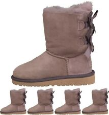 DI MODA UGG Toddler Baily Bow Boots Stormy Grey UK 5 Euro 22.5 Infant