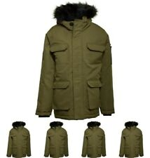 FASHION Bellfield Junior Oversized Arctic Parka Khaki 6-7 Years 116cm Height Si